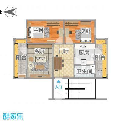 河北医科大学宿舍的户型图