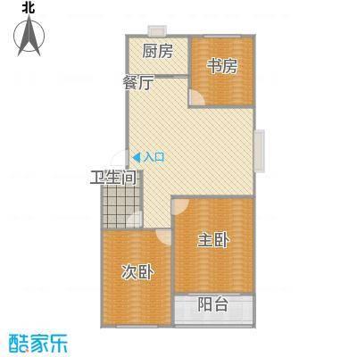 盛世华庭115平三室两厅