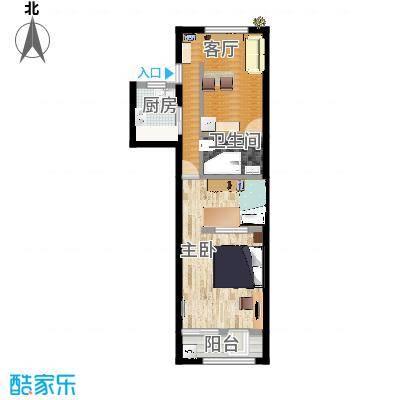 两居室新2的改良