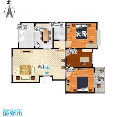 120方三室两厅