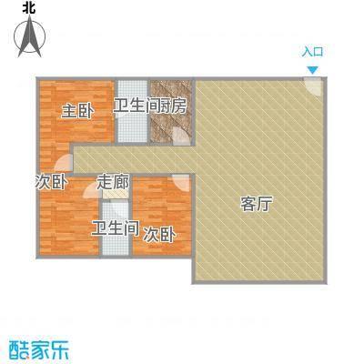 富华广场的户型图