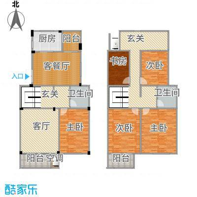 180m复式楼4室2厅3-4楼