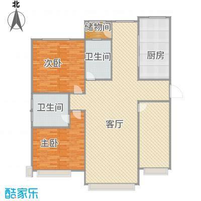 上国佳苑2楼132平三室两厅两卫