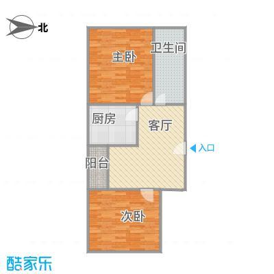 金狮公寓的户型图