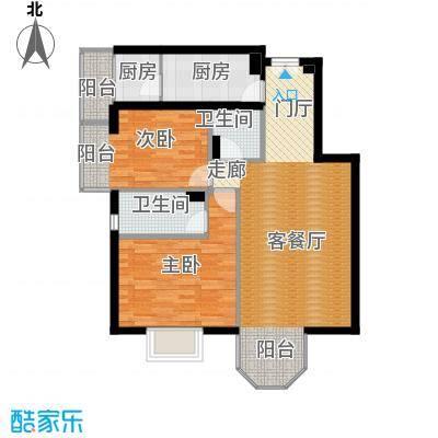 枫桦豪景126.91㎡户型