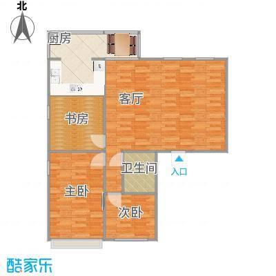 威华公寓的户型图123