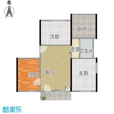 80方3居室