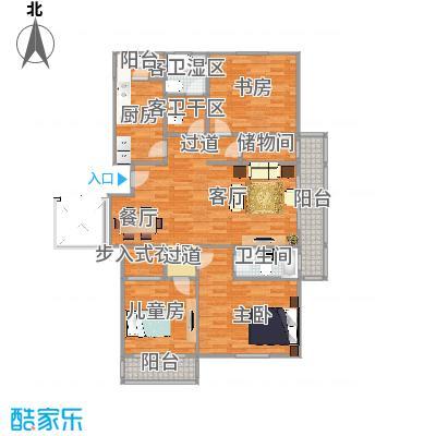 三室二厅二卫(2)