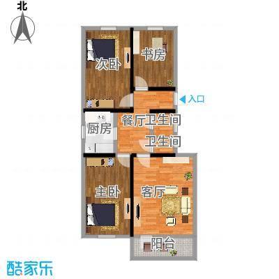 90平米四室一厅
