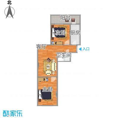 73方两室一厅一卫
