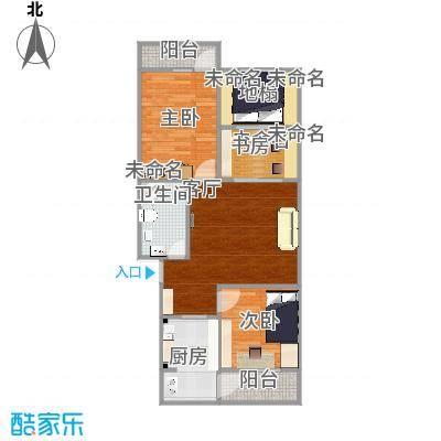 两室两厅103平