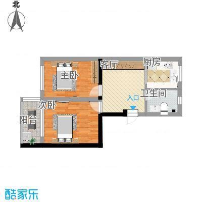 二室一厅的A