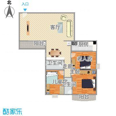 仙湖名苑的户型图