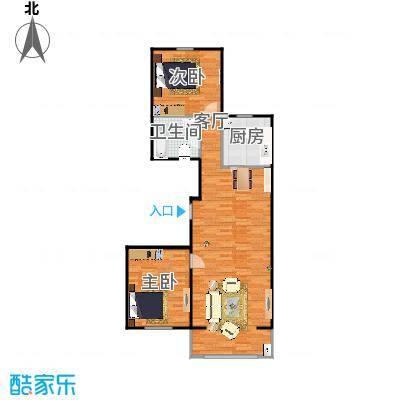 锦绣江南118平g户型两室两厅