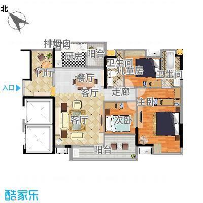 沁芳轩1单元01房24层