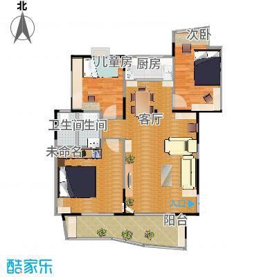 振业山水名城110.12㎡118m2户型