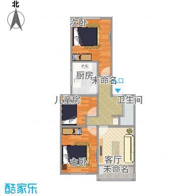 金杨新村的户型图