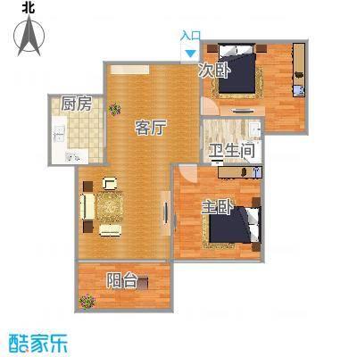 85方两室两厅