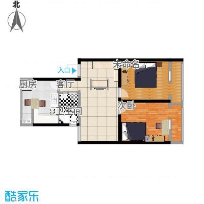 广安门车站西街17号院的户型图