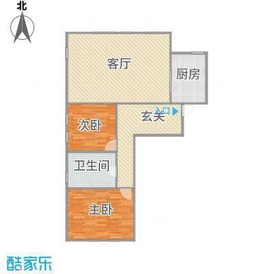 121.75两室两厅