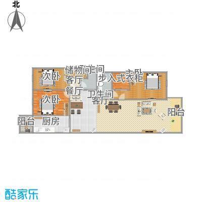 东升园3居室