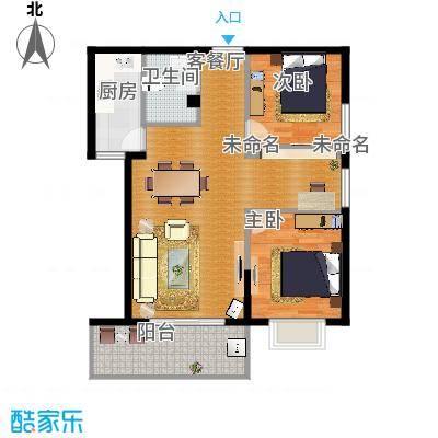 三号楼89方3号户型三室两厅final