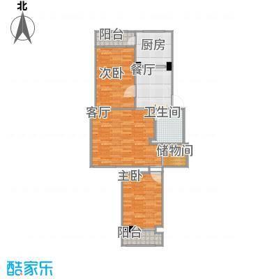 小南庄的户型图2
