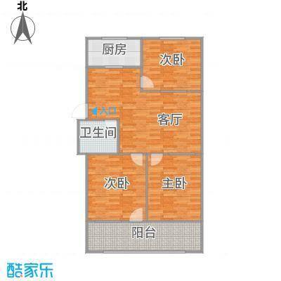 102方三室两厅(白色调)