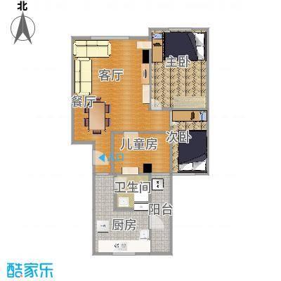 71方三室一厅