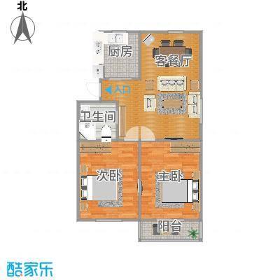 93平方2室2厅