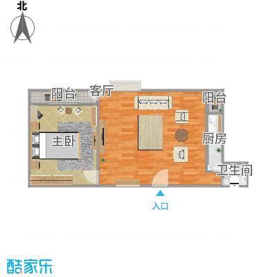 中惠香樟绿洲69栋二单元0209户型图