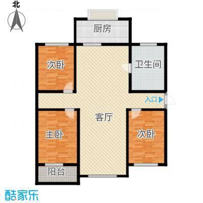 紫阙台3室2厅2卫135.08平米户型3室2厅2卫CC