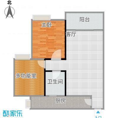 68平米2室1厅