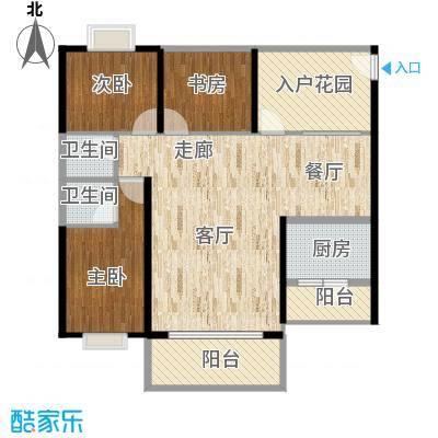 和瑞深圳青年的104平方户型图