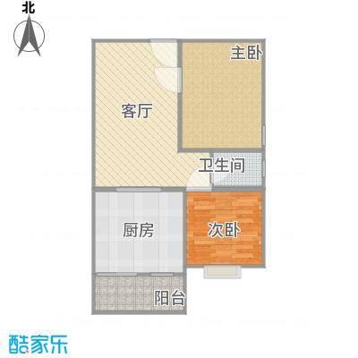 东方之珠72平两室