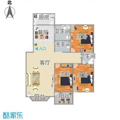 145平方3室2厅2卫