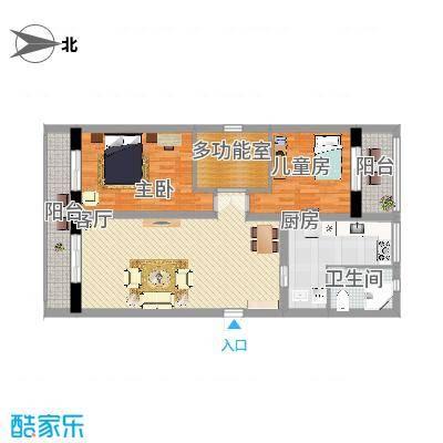 114平两室两厅