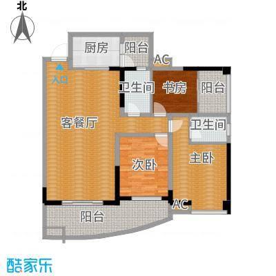 A4三室两厅双卫
