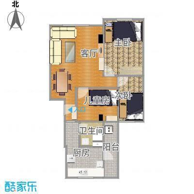 71方两室一厅