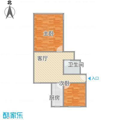 清河新寓一村两室一厅