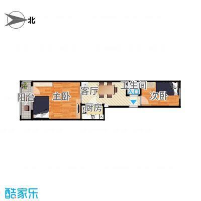 北京理工大学附中教工宿舍2居室