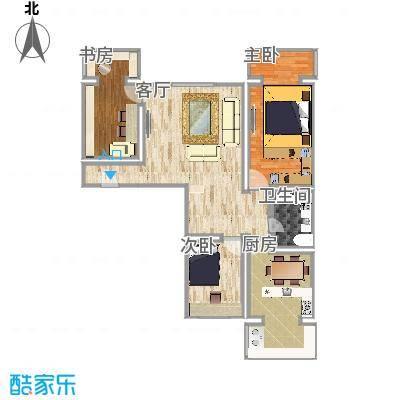 136方A2户型三室两厅
