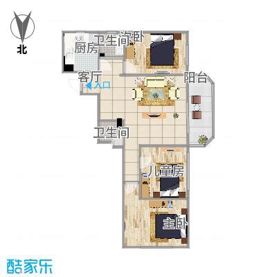 三室一厅塔楼