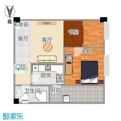 枫丹国际公寓67平米小户型
