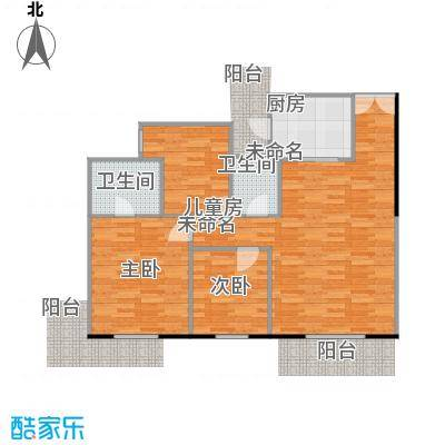 东骏豪苑二期的户型图2