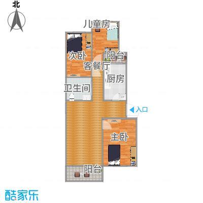龙跃苑112平3室1厅