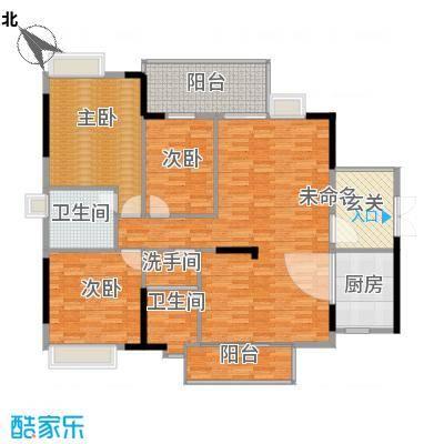 南江帝景-御景苑-3栋B座02B户型