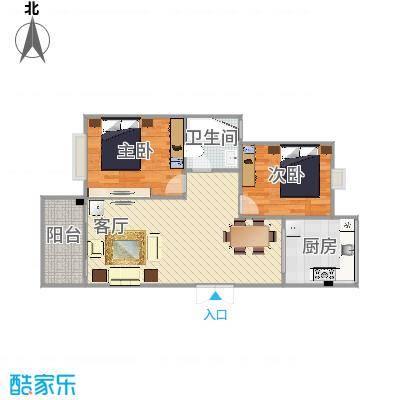 93方两室两厅