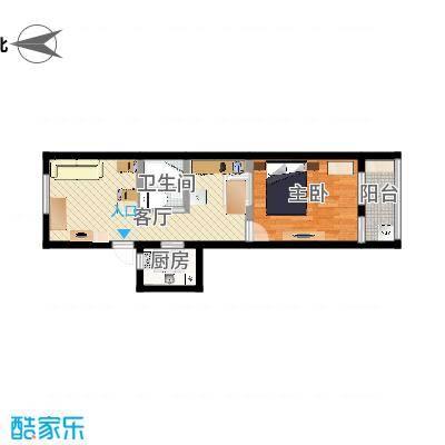 两室一厅新