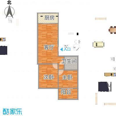 香海花园67.66方